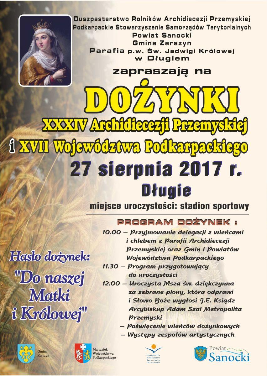 dozynki2017_dlugie_plakat