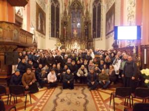 Z uczestnikami Seminarium , na jego zakończenie